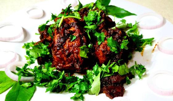 Dry Chicken-Chicken Varuval-Chicken Recipe-Chicken Fry-How to cook Chicken fry