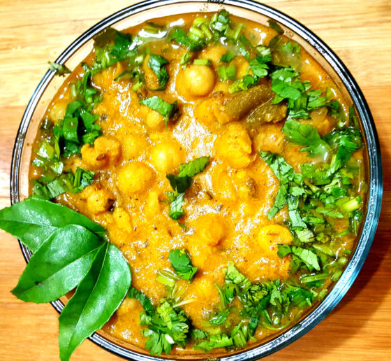 Veg Chana Kurma Recipe (Korma)