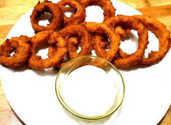 Crispy Onion Rings-Easy snack recipes-Healthy snacks-How to Cook Crispy Onion Rings