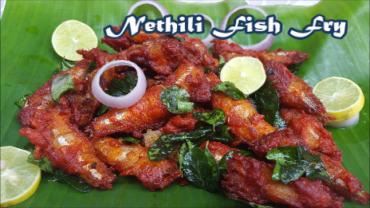 Nethili Meen Fry | நெத்திலி மீன் வறுவல் | Restaurant Style