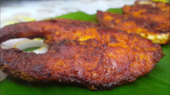 Fish Fry Recipe | மீன் வறுவல் | Simple Fish Fry | Velameen Fish Fry